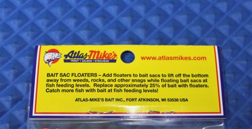 Atlas Mikes Bait Sac Floaters 300/BAG CHOOSE YOUR COLOR!