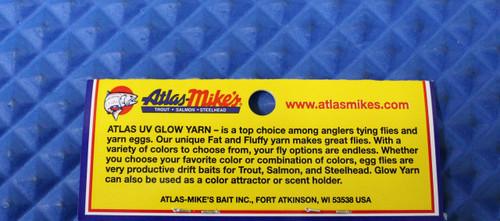 Atlas Mikes Glow Yarn UV Enhanced CHOOSE YOUR COLOR!