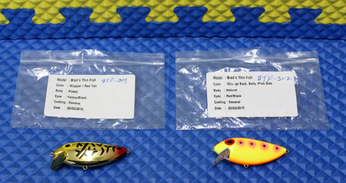 BTF-301 Red Tail Tiger And BTF-302 Pink Eye New Custom Colors!!