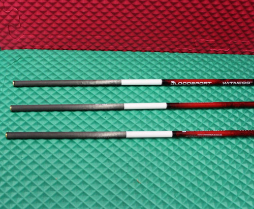 "Bloodsport Witness Crossbow Carbon 22"" Arrow 325 Grain 3-Pack R/R/W BLDW2236"