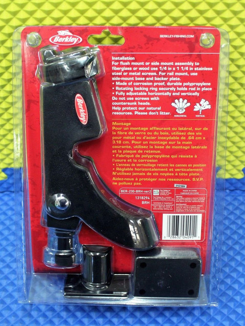 Berkley Fishin' Gear Boat Rod Holder BRH 1318294
