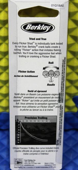 Berkley Flicker Shad Pro Medium Dives 11'-13' Size 7 FFSH7M Flashy Series CHOOSE YOUR COLOR!