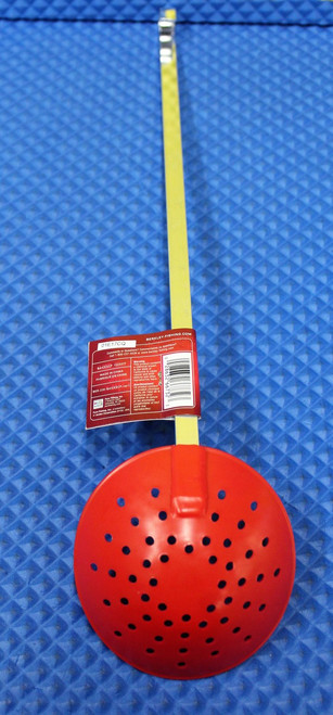 Berkley  Fishin' Gear Ice Fishing Scoop Red Flex Nylon BAICESCP 1323317