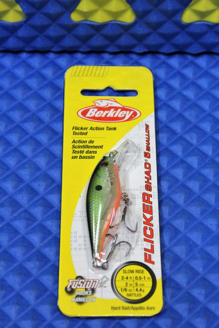 Berkley Flicker Shad 5 Shallow Slow Rise 2'-4' Size 5 FFSH5S  Flashy Series CHOOSE YOUR COLORS!