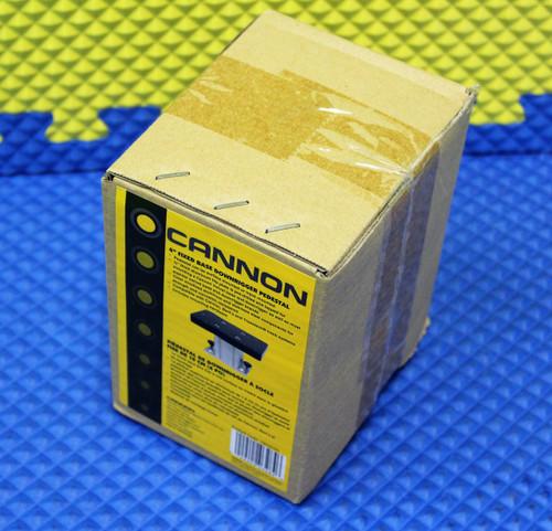 "Cannon Downrigger Accessories 4"" Aluminum Fixed Base Downrigger Pedestal 1904030"