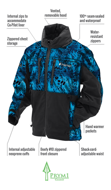Frogg Toggs Pro Action Jacket Black S PA63122-01SM