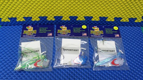 Musselhead Tackle Meat-Rigging Full Rigs CHOOSE YOUR COLOR!