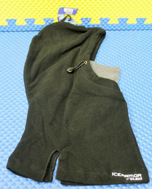 Clam IceArmor Hoodie Balaclava Warm And Comfortable Black Item 10677