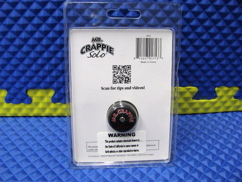 Mr. Crappie Solo Jiggin' Reel Pre-spooled With Premium Hi-Vis Yellow Line SO1
