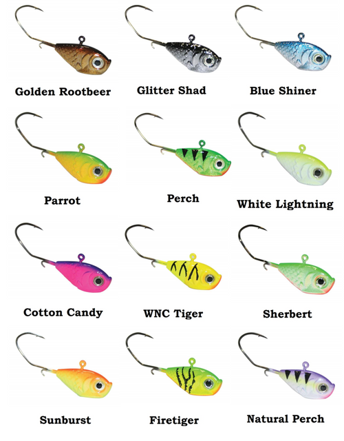 Walleye Nation Creations Marble Eye Jigs 3/8 oz. 3-Pack MEJ38-CHOOSE YOUR COLOR!
