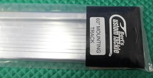 """Silver (Buff Bright) 60"""" Single Track w/ END CAPS MF3532"""