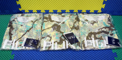 HUK Ice Technology Icon X Kryptek Camo Obskura Sundarban Long Sleeve Shirt CHOOSE YOUR SIZE!