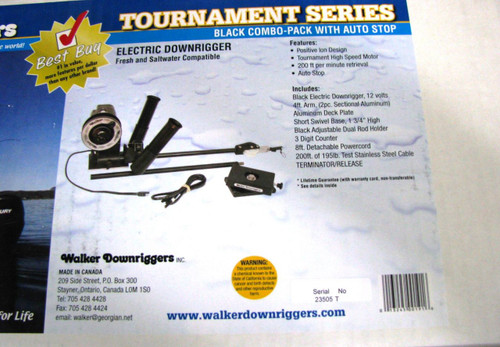 WALKER DOWNRIGGERS TOURNAMENT COMBO PACK WF01916