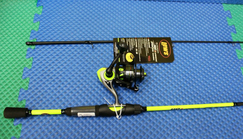 "Lew's Hypersonic Speed Spin Combo 6' 6"" Rod HS300 Reel HS3066M-2"