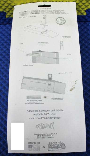 "Dreamweaver 9.5"" Ninja Speed Planer Board RIGHT NJ922-FRL (RT) With Flag System"