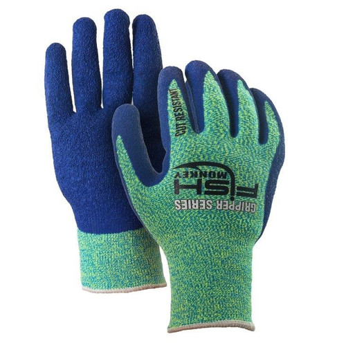 Fish Monkey Gripper Series Cut Resistant Fillet Glove FM13-NGRROY-L/XL