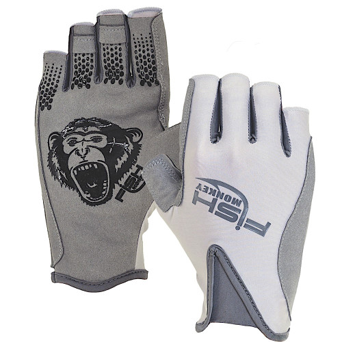Fish Monkey Pro 365 Guide Glove FM21-LTGREY-CHOOSE YOUR SIZE!