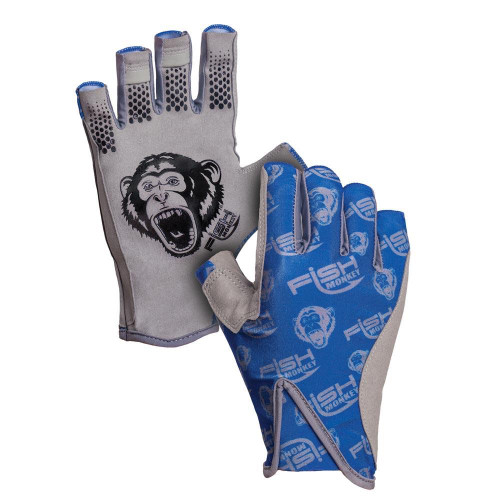 Fish Monkey Pro 365 Guide Glove FM21-Royal Blue-CHOOSE YOUR SIZE!