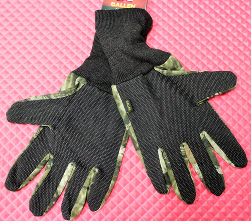 ALLEN Dot Grip Jersey Gloves Mossy Oak Break Up Infinity Camo 1453-A