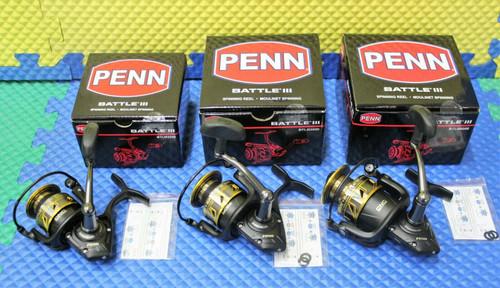 Penn Battle III Saltwater Spinning Reels CHOOSE YOUR MODEL!