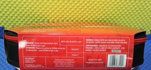 Berkley Fishin' Gear Deluxe Electric Filet Knife 12 Volt Combo  BCDEFK 1318417