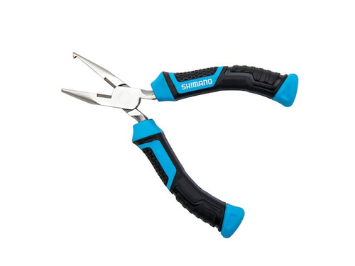 """Shimano Brutus Double Silver Nickel Finish 5"""" Split Ring Pliers SSRP05N"""