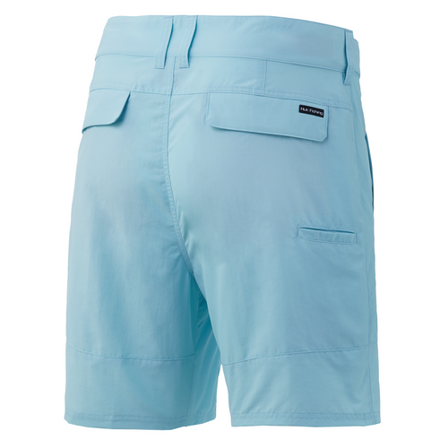 """HUK Rogue 18"""" Short (At The Knee 7.5""""Inseam) H2000083-450 Ice Blue CHOOSE YOUR SIZE!"""