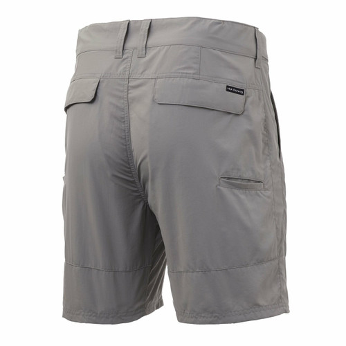 "HUK Rogue 18"" Short (At The Knee 7.5""Inseam) H2000083-020 Grey CHOOSE YOUR SIZE!"
