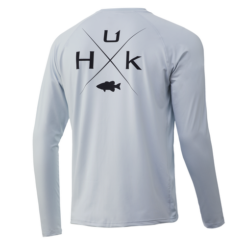 HUK Bass Pursuit Long Sleeve Shirt H1200305-451 Plein Air CHOOSE YOUR SIZE!