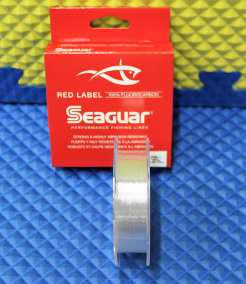 Seaguar Red Label 100% Fluorocarbon Line Clear CHOOSE YOUR LINE WEIGHT!
