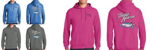 Tackle Haven Logo Long Sleeve Hoodie Sweatshirt CHOOSE YOUR COLOR & SIZE!