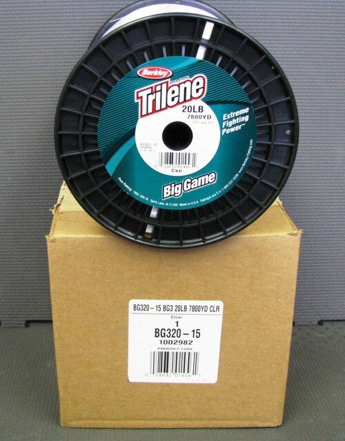 3LB SPOOL: BG320-15 20LB/7800YD Clear