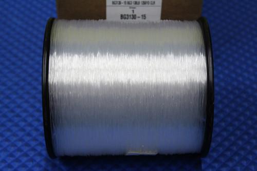 3LB Spool: BG3130-15 130LB/1350YD Clear