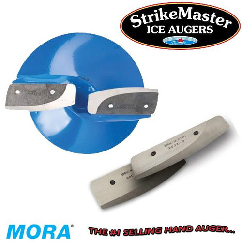 StrikeMaster Ice Augers MORA Hand Replacement Blades CHOOSE YOUR MODEL!