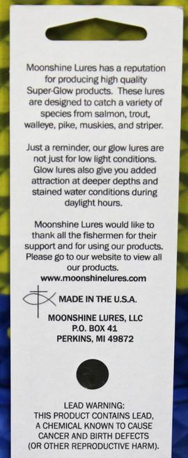 "JJ MAC MUFFIN MOONSHINE LURES SHIVER MINNOW SIZE #00 1/"" 1//8 oz"