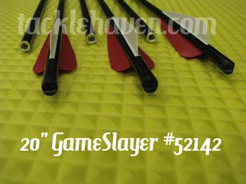 CARBON EXPRESS GAME SLAYER ALUMINUM CROSSBOLTS 6 PACK
