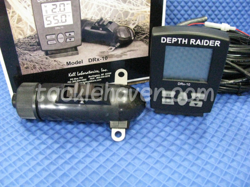 KELL DEPTH RAIDER SPEED AND TEMP UNIT #DRx-10