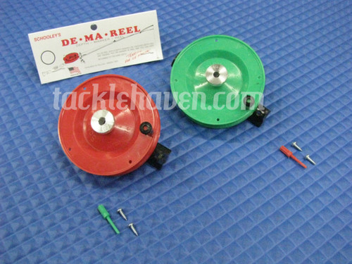 Schooley's De-Ma-Reel Ice Fishing Reel
