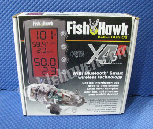 Fish Hawk X4D System with Bluetooth Smart Wireless Technology