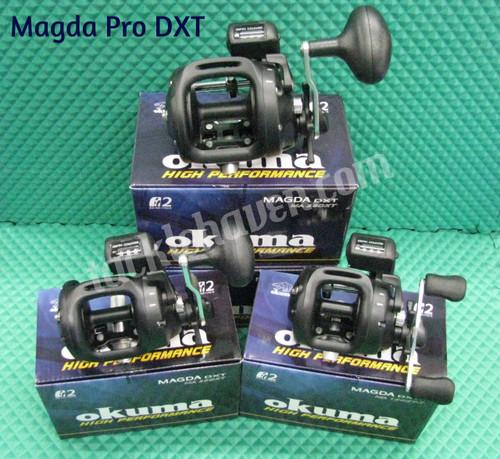 Okuma Magda Pro DXT Line Counter Reels