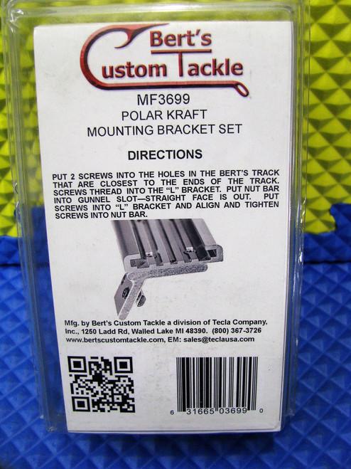 Berts Custom Tackle Polar Kraft Mounting Bracket Set MF3699