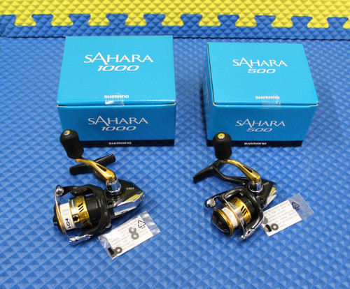 Shimano Sahara Spinning Reel NEW FI Series Blue Box CHOOSE YOUR MODEL