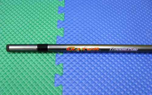 Gator Crappie Pole 13 Feet 4 Section w/Line Retainer S13