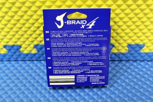 Daiwa J-Braid X4U Flourescent Yellow 150yd CHOOSE YOUR WEIGHT!