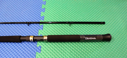 "Daiwa Great Lakes Downrigger Trolling Rod  8' 6"" M GL862MR"