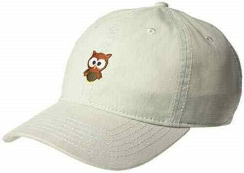 New DAD HAT Baseball Cap Adjustable Adult Teen Embroidered Unisex OWL Grey