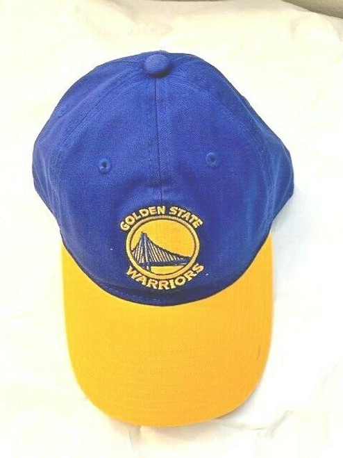 New NBA GS WARRIORS  Strap back Dad Hat Royal Blue Gold Licensed Adjustable gift