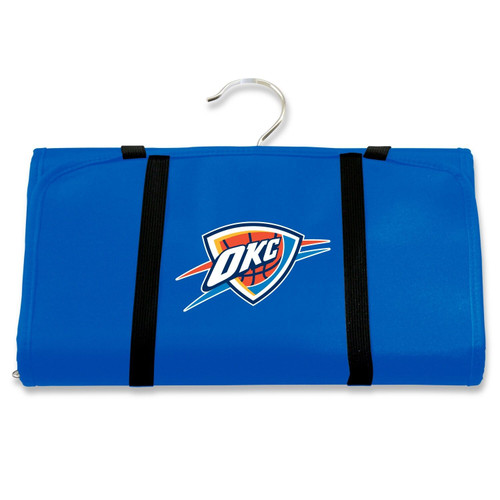 New NBA Travel Hanging Toiletry Cosmetic Organizer Bag Licensed OKC Thunder