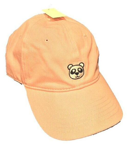 New DAD HAT Baseball Cap Adjustable Adult Teen Embroidered PANDA Bear Pink gift