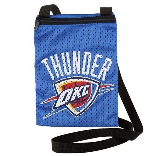New Jersey Gameday Jersey Pouch Purse NBA Licensed OKLAHOMA CITY THUNDER OKC